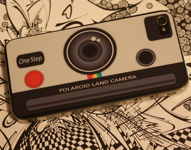 Polaroid Land Camera iPhone 4 Decal