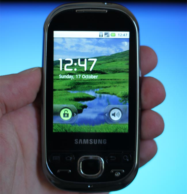 Samsung Galaxy Europa i5500 Review