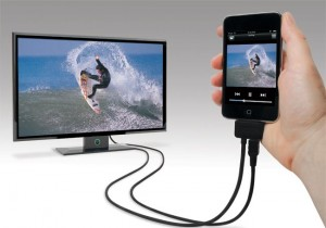 Scosche sneakPEEK II Component Cable For iPad And iPhone