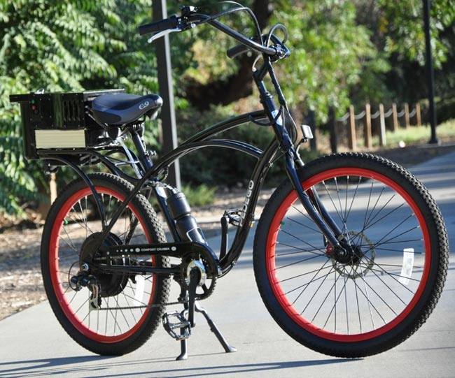 Signa Electric Bike Runs On Water