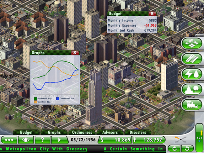 Sim City iPad