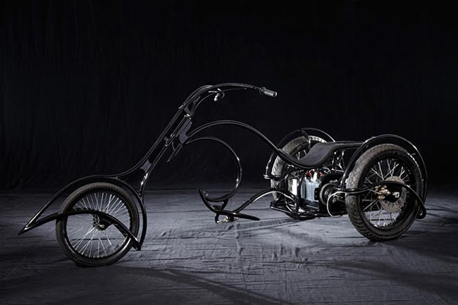 Solar Electric Three Wheeler Bicycle