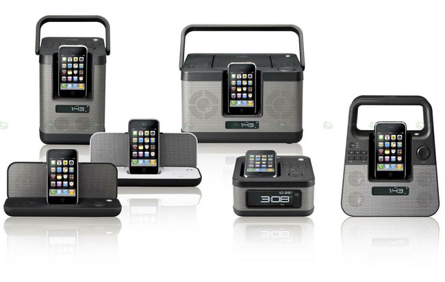TDK iPhone Docks
