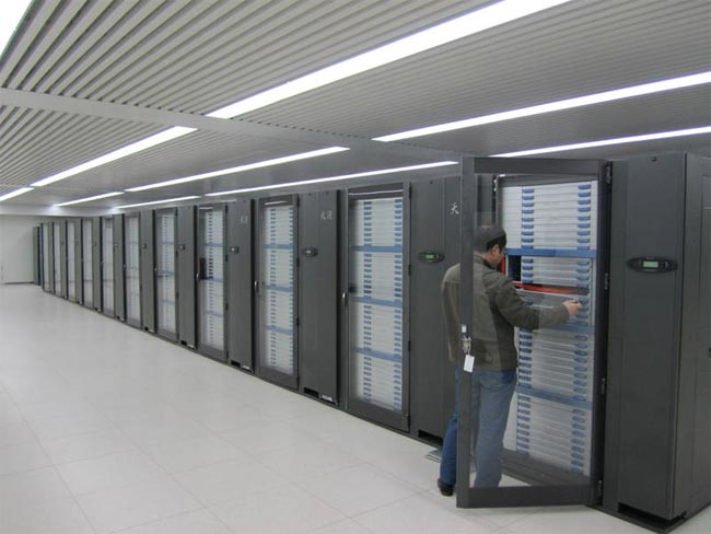 Tianhe 1A supercomputer