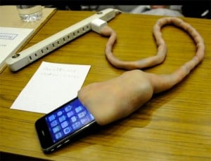 Umbilical Cord iPhone Charger