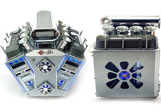 V8 Engine Case Mod