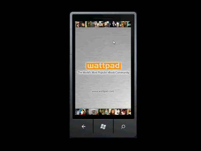 Wattpad Windows Phone 7