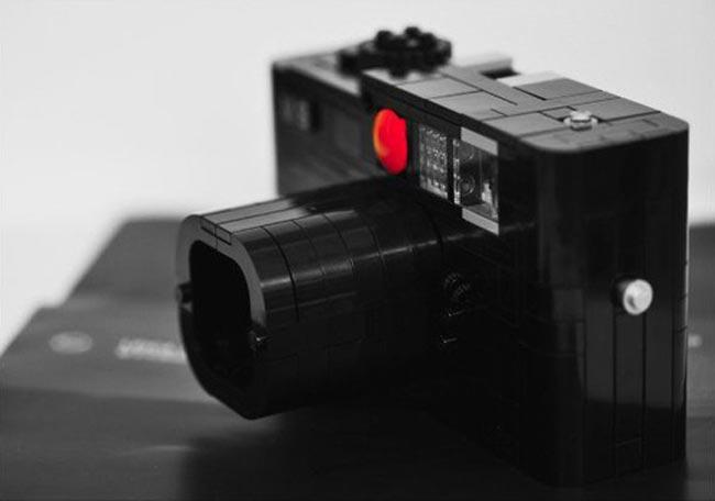 Working Lego Leica M8 Camera