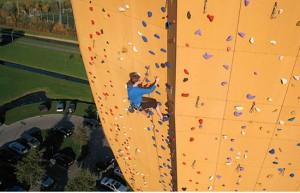 Worlds Tallest Climbing Wall : Excalibur