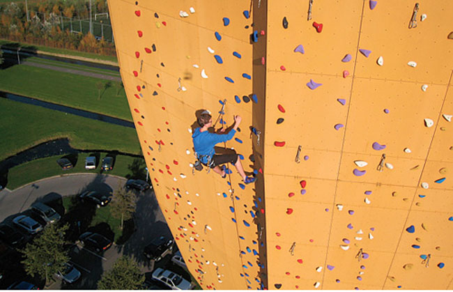 Worlds Tallest Climbing Wall, Excalibur