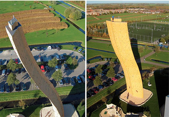 Worlds Tallest Climbing Wall : Excalibur
