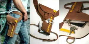 The Y01 Holster For Gadgets Tickles Your Inner Cowboy