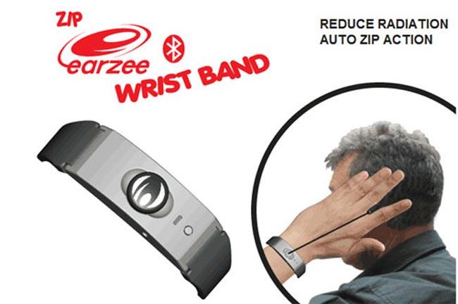 Zip Earzee Bluetooth Earpiece Wristband