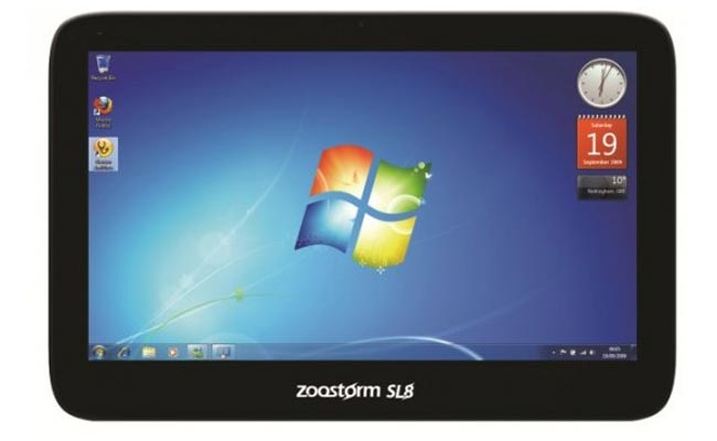 Zoostorm SL8 Windows 7 Tablet