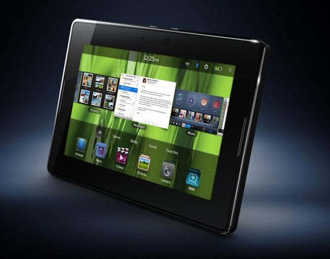 blackberry playbook. BlackBerry PlayBook To Feature