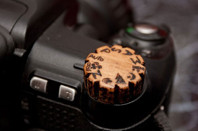 DSLR Wooden Knob