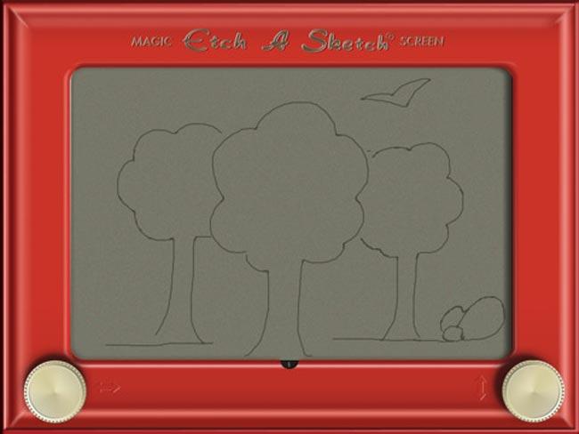Etch A Sketch HD iPad App Released