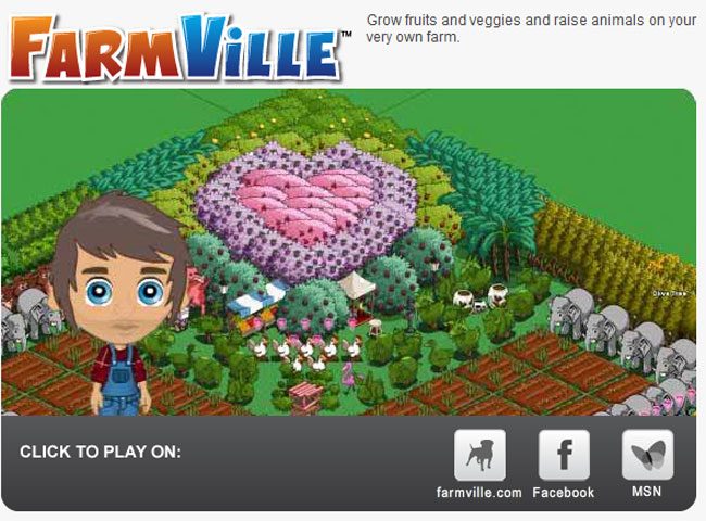Farmville on iPad