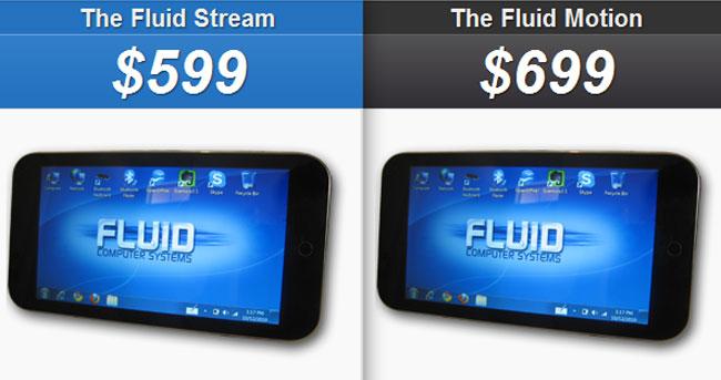 Fluid Stream Tablet PC