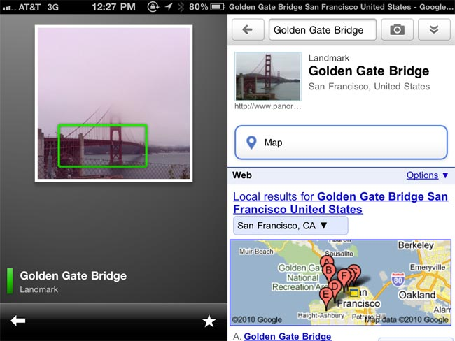 Google Goggles Now Available For iPhone