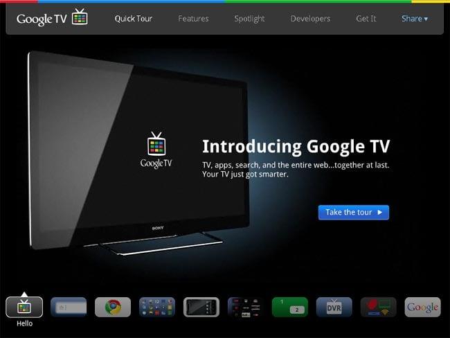 Google Tv Website Goes Live