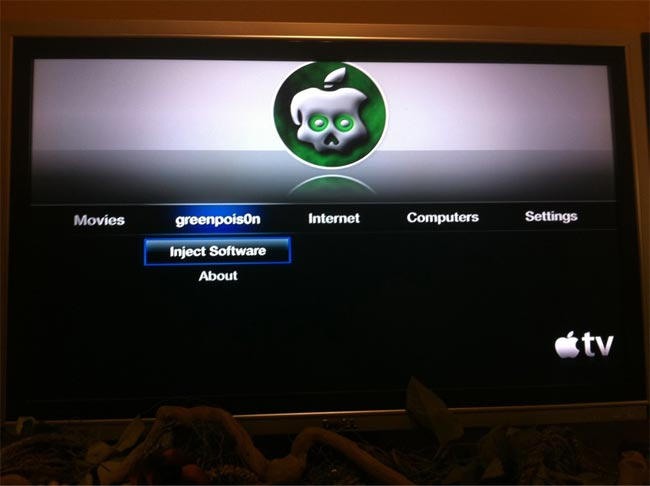 Apple TV Gets Jailbroken With Greenpois0n