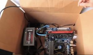 Hackintosh In A Cardboard Box