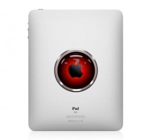 Hal 9000 iPad Decal