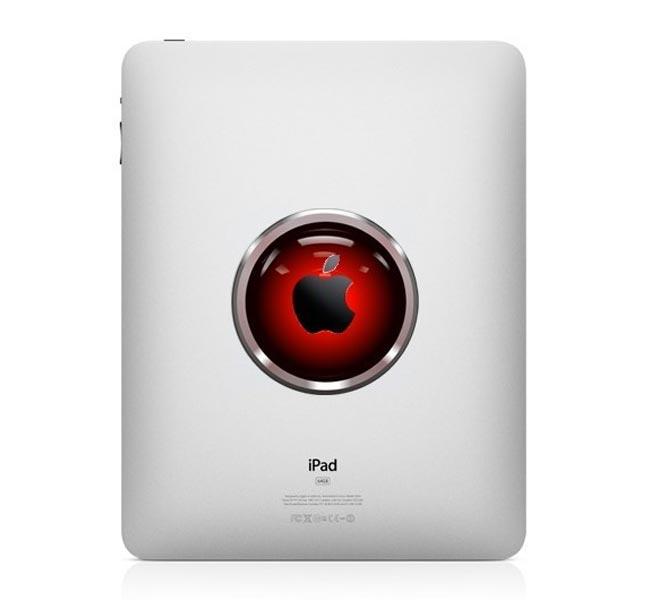 Hal 9000 iPad Decal