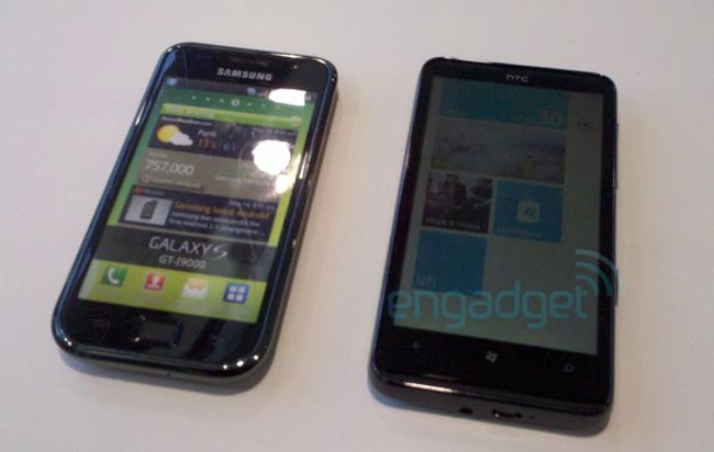 HTC HD7 Windows Phone 7 In Action (Video)