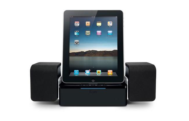 iLuv's iMM747 iPad Dock