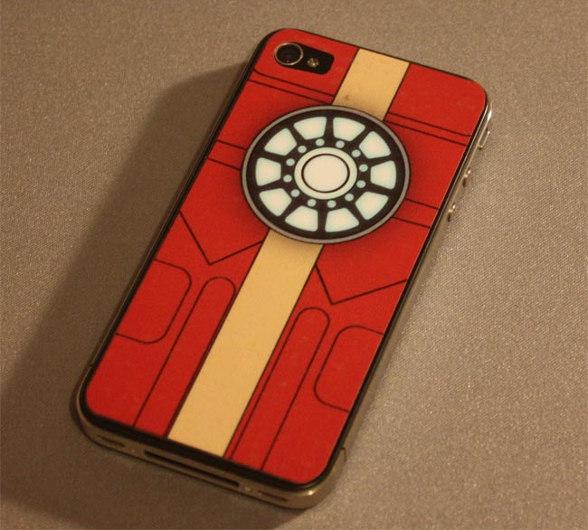 iron Man Arc Reactor iPhone 4 Decal