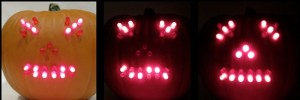 LED Pumpkin is Halloween Decorating Geek Style