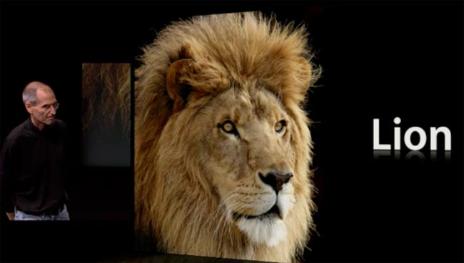 Mac OS X Lion Announced