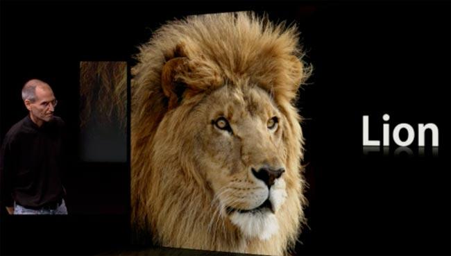 Mac OS X Lion Announced