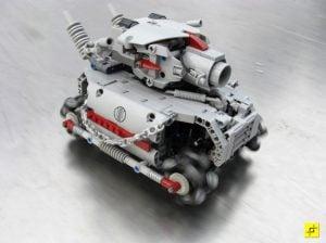 Metal Grudge – The 48 Wheeled Lego Tank