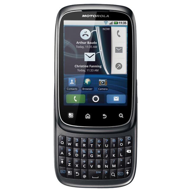 Motorola Spice Android Smartphone Announced