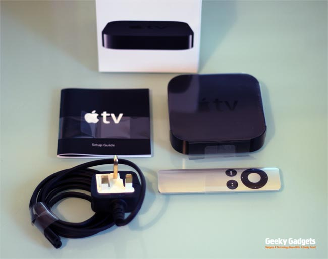 Apple TV Unboxing (Photos)