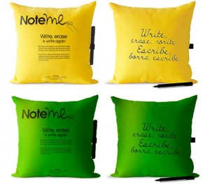 Note Me Pillows