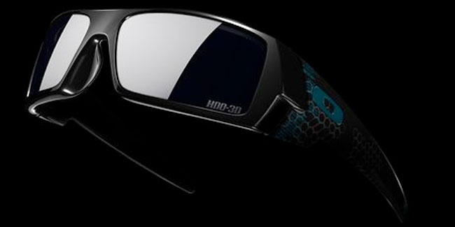 Oakley Limited Edition Tron 3D Gascan