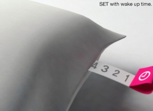 Concept Alarm Clock Pillow Will Wake the Soundest Sleeper