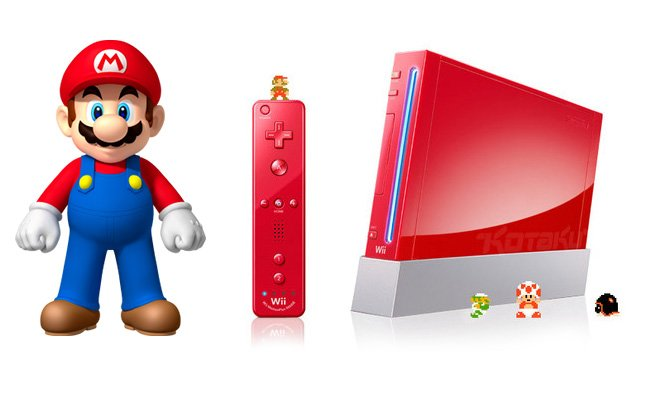 Red Mario Wii
