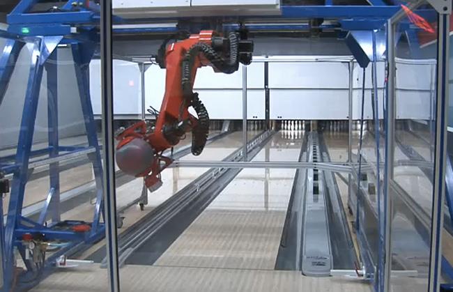 robot bowler