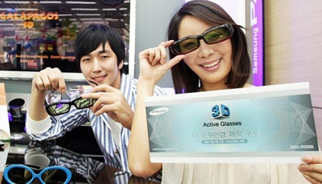 Samsung To Produce Prescription 3D Glasses