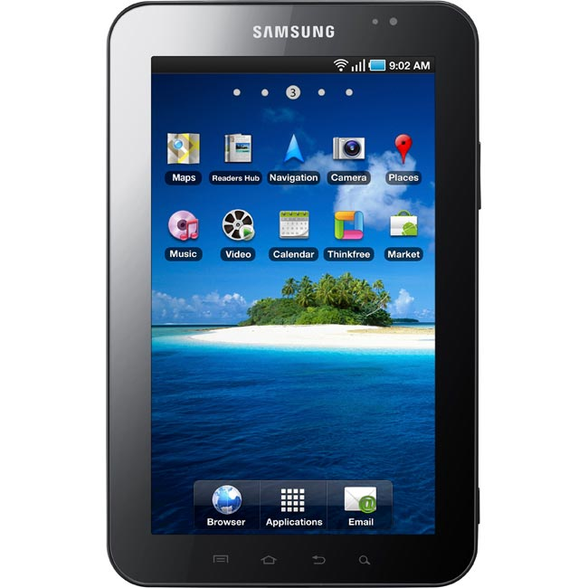The Samsung Galaxy Tab will be available for $400 with T-Mobile