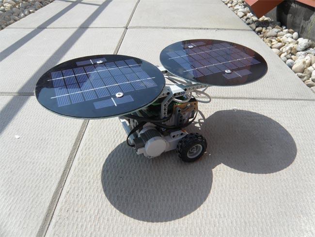 Solar lego Mindstorms