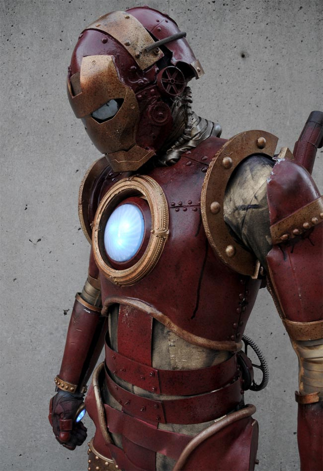 Steampunk Iron Man