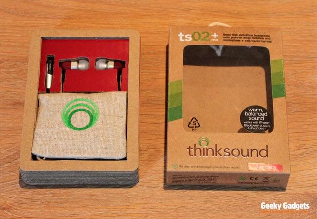 Thinksound ts02 + Mic Headphones Review