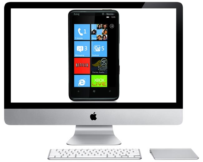 Microsoft Launching Windows Phone 7 Sync Software For Macs Later This Year