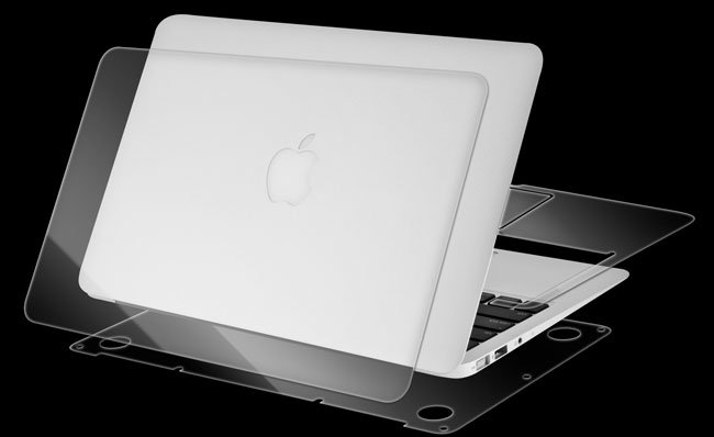invisibleSHIELD for MacBook Air